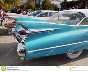 Retro Cadillac Vintage American Classic Car Cadillac 50 60 180 S Editorial