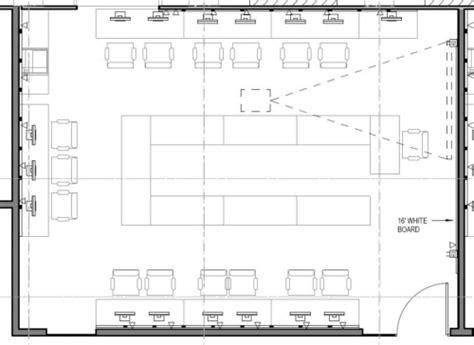 computer lab floor plan computer classrooms