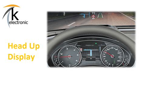 Audi A6 Display by K Electronic 174 Gmbh Audi A6 4g Headup Display