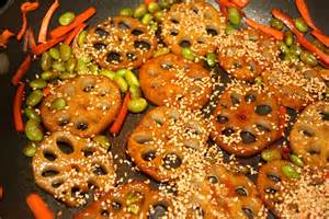 Lotus Root Recipes Stir Fried Lotus Root Recipe 171 Eat Plants Live