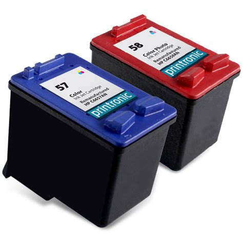 Cartridge Compatible Hp Q2621a compatible hp 57 color ink cartridge and hp 58 photo ink