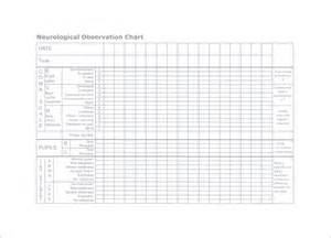 Neuro Template Pdf by Chart Template 10 Free Sle Exle Format