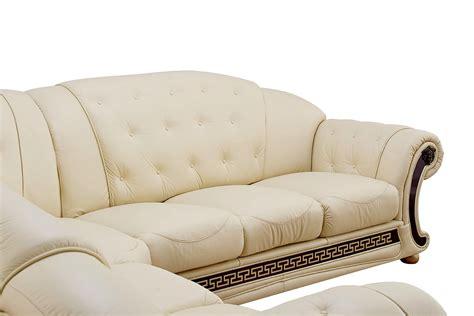 versace leather sofa versace living room furniture cream italian leather sofa