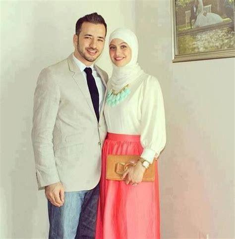 desain baju couple muslim desain baju muslim terbaru untuk pasangan serasi