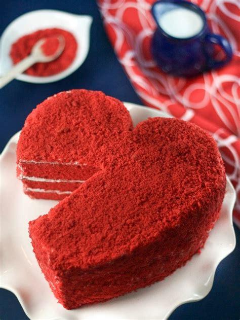 kuchen kleine herzform 1001 ideen f 252 r roter samtkuchen zum genie 223 en mit partner
