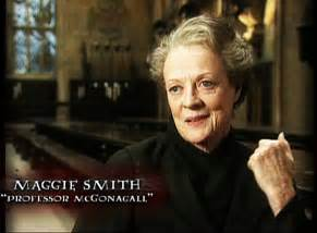 image maggie smith hp interview 01 jpg harry potter