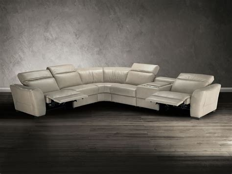 Bradington Sofa Natuzzi Editions Sectional Sofa B708 Modern Sectional Sofas