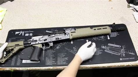 magpul zhukov handguard installation  review youtube