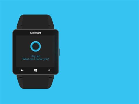 Smartwatch Microsoft microsoft s smartwatch will be a contender but here s