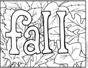 Free Fall Coloring Pages To Print 4 free printable fall coloring pages