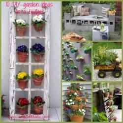 idee per un giardino fai da te idee giardino fai da te low cost diy garden ideas on a
