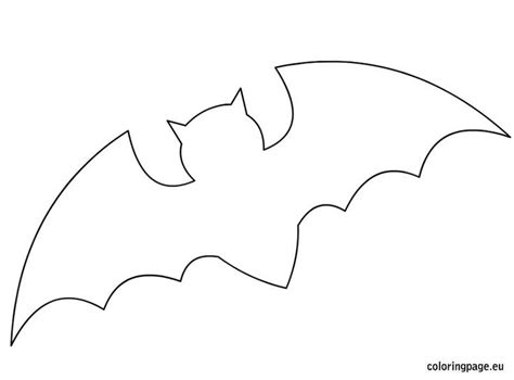 bat template for halloween halloween pinterest