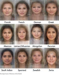 Software calculates appearance of the average woman in 41 countries