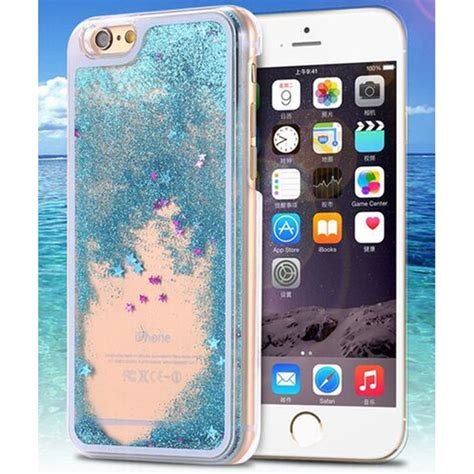 Open Po Liquid Glitter Sands For Iphone 6s Plus 7 Plus clear transparent dynamic liquid glitter sand cases for iphone 5 5s 6 6s 7