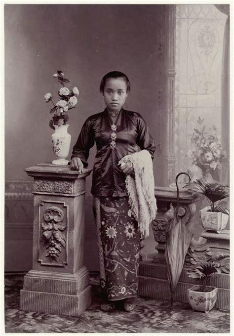 Baju Adat Jaman Dulu potret kecantikan wanita indonesia jaman dulu masih polos alami dan tak mengenal salon unik