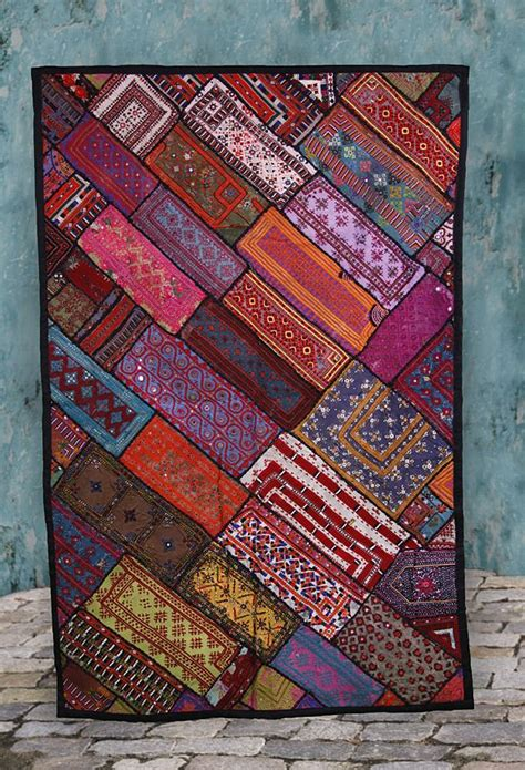 Patchwork Quilt Chords by Best 25 Bohemian Quilt Ideas On Boho Bedding