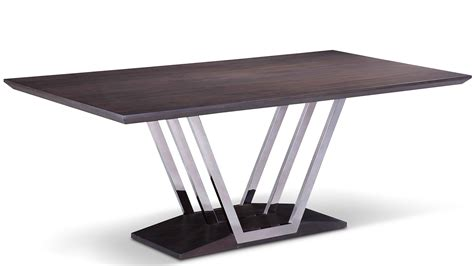 brushed stainless steel and glass dining table stainless steel base dining table design decoration