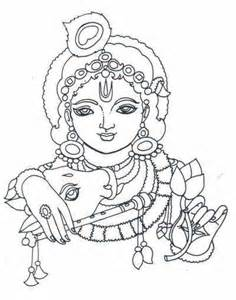 Outline Pictures Of God Krishna by Children S Corner Arts Crafts Coloring Projects