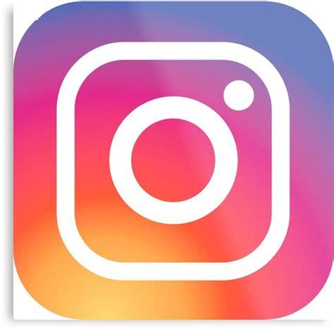 instagram logo metal prints  albertfolguera