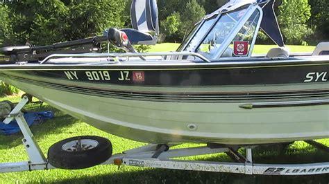 sylvan northwood boats sylvan super sportster for sale on ebay 7 22 2015 youtube