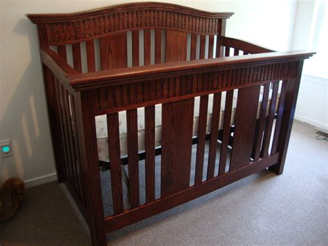 Baby Crib Design Plans by Baby Crib By Randy Sharp Lumberjocks Woodworking