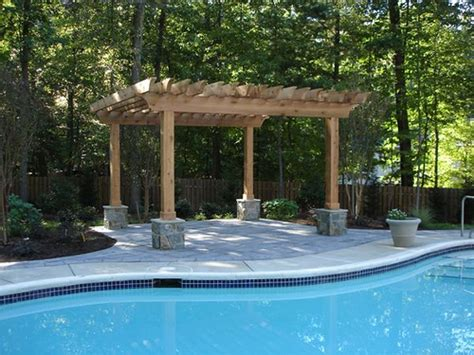 Backyard Landscaping With Pool by Backyard Swimming Pool Landscape Flickr Photo