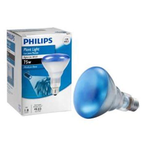 philips  watt agro plant light br flood light bulb