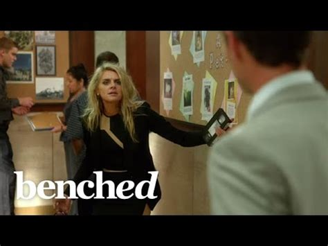 tv series benched benched trailer clip and video