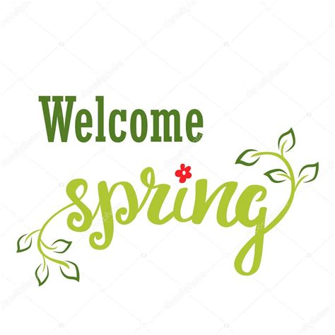 Lovely New Church Signs #5: Depositphotos_99869982-stock-illustration-welcome-spring-hand-lettering-calligraphy.jpg