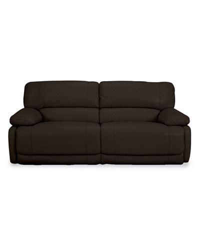 nina sectional sofa reviews nina leather dual power reclining sofa furniture macy s