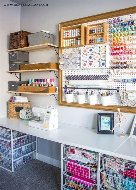 pegboard craft zimmer craft room makeover n 228 hzimmer arbeitszimmer und n 228 htische