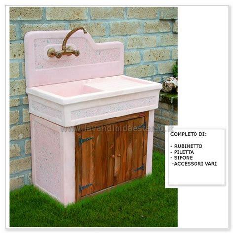 lavabo per giardino lavabo da esterno monviso aq7000ma lavandini da esterno
