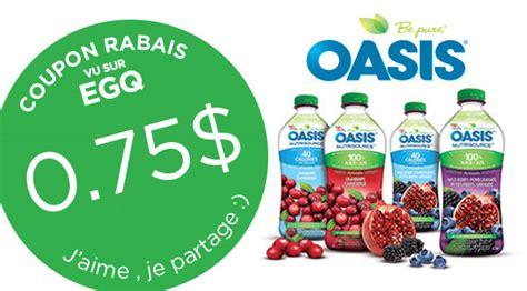 discount voucher oasis coupon 0 75 jus oasis nutrisource 1 36l egq