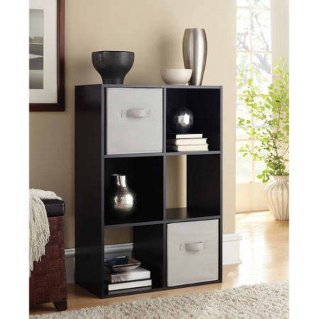 mainstays 4 cube organizer with 2 drawers mainstays 6 cube organizer multiple colors walmart