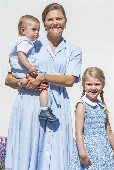 crown princess victoria of sweden celebrates 40th birthday