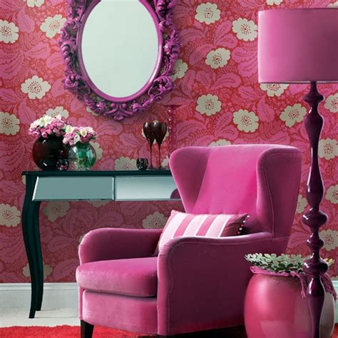 pink and purple living room purple floral living room colourful living room housetohome co uk