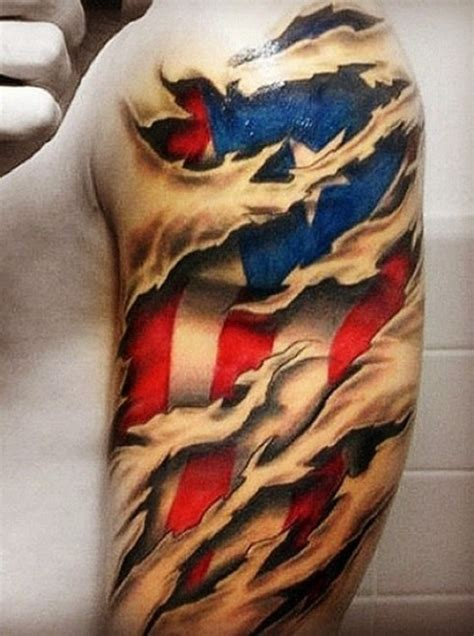 flag tattoos for men the gallery for gt flag designs for