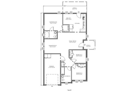 Micro Floor Plans by Small House Plans 7