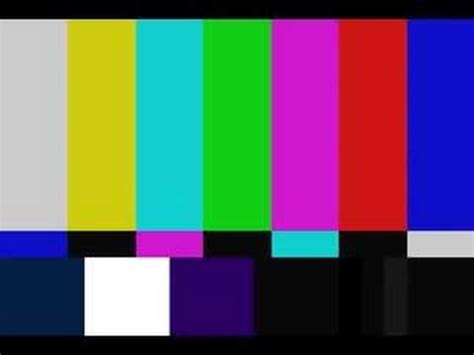 test pattern beep tv color bars distorted with static and timecode doovi
