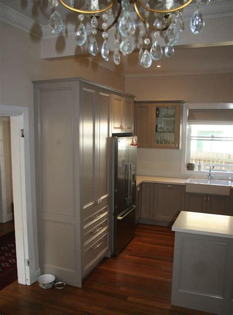 Gray Caesarstone Kitchen by Caesarstone Pebble Countertops Design Ideas
