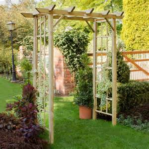 Arch Pergola by Forest Classic Pergola Arch Buy Fencing Direct