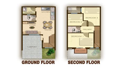 townhome plans townhouse floor plans with garage 3 story townhouse floor