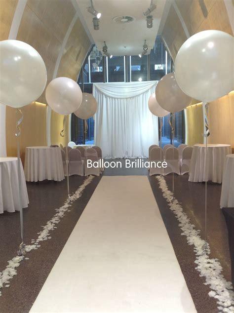 "#3foot ""giant #jumbo #balloons #aisle #wedding #canberra #"