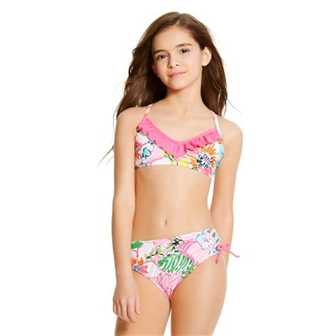 models all set babes upc 492511001698 lilly pulitzer for target girls bikini