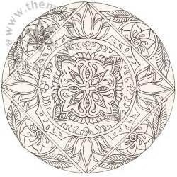 Mandala Lotus Free Coloring Pages Of Mandala Pretty