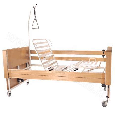 letto disabili letto elettrico per disabili e anziani in legno modello king