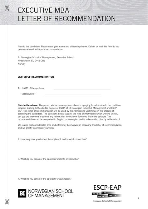 Recommendation Letter Format Mba Best Photos Of Mba Recommendation Letter Sles Business School Recommendation Letter Sles