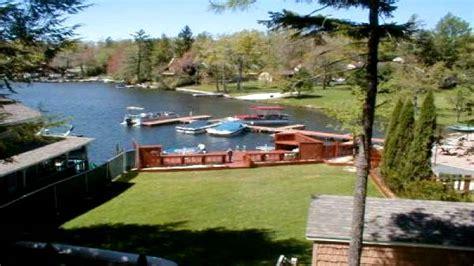 poconos boat rentals pocono mountain vacation rental lake harmony lakefront
