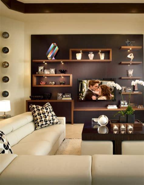 Rak Buku Dinding Kreatif dekorasi interior kreatif dengan rak di rumah minimalis