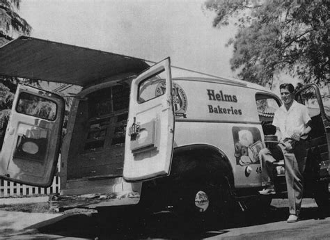 american trucks of the 1950s those were the days books l a 1950s helms bakery truck b w photography
